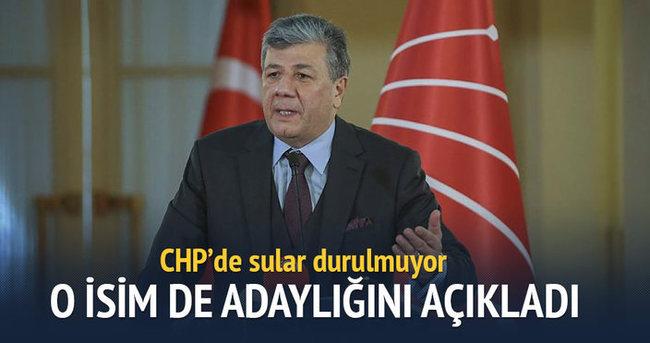 CHP'de o isim de adaylığını açıkladı