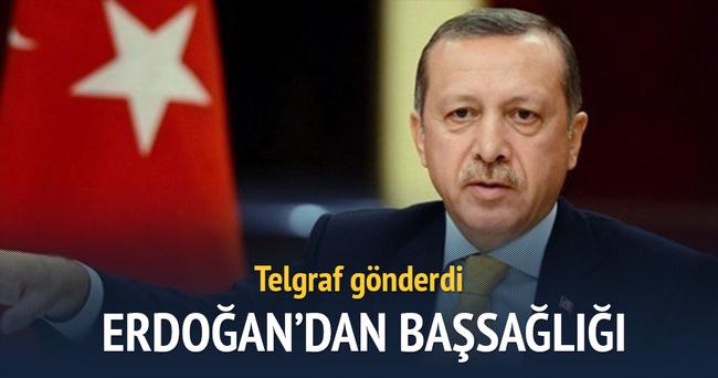 Erdoğan, şehit ailelerine başsağlığı diledi