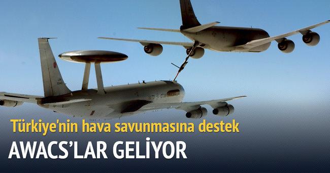 Diyarbakır'a 2 adet Awacs uçağı geliyor