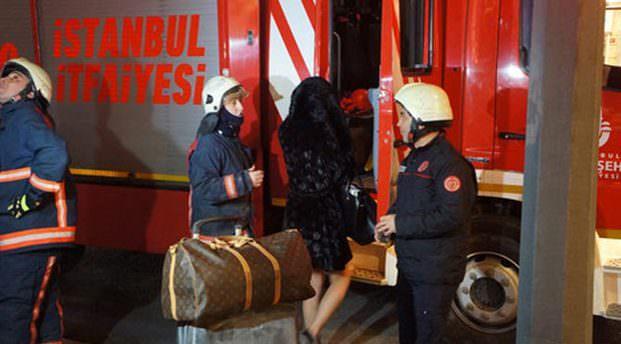 Nişantaşı'nda lüks rezidansta yangın paniği