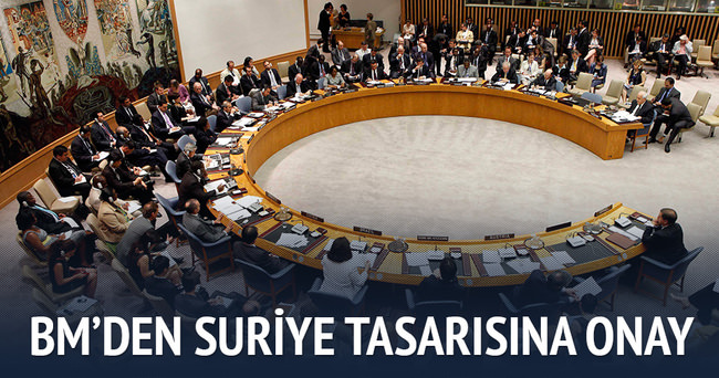 Suriye tasarısı BM'de kabul edildi