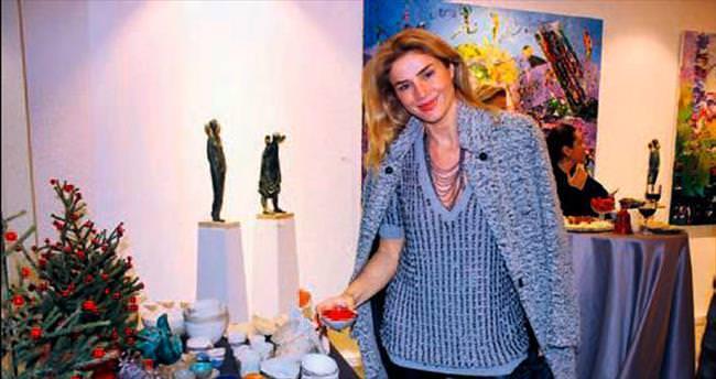 Sanat tutkunlarını buluşturan parti