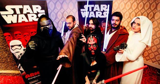 Benim meskenim Star Wars'tur