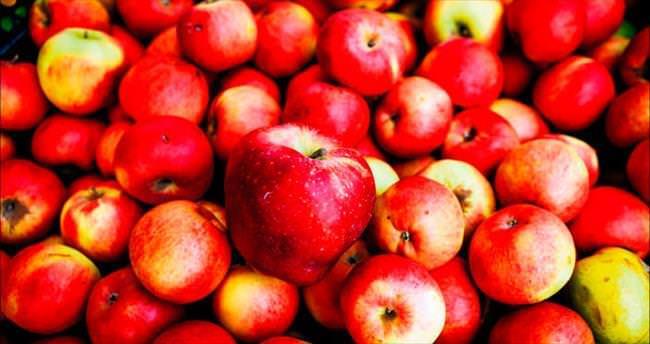Elmalar arasındaki sekiz farkı bulun!