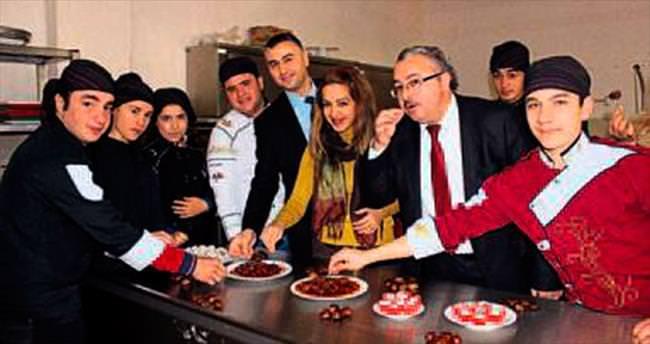 Buldan'ın kestanesi Bursa'ya rakip oldu