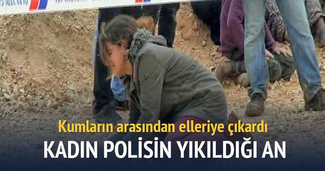 Ağabeyinin cesedini bulan kadın polis yıkıldı