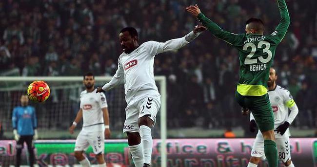 Torku Konyaspor Bursaspor'u devirdi