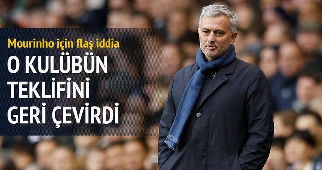 Mourinho için flaş iddia