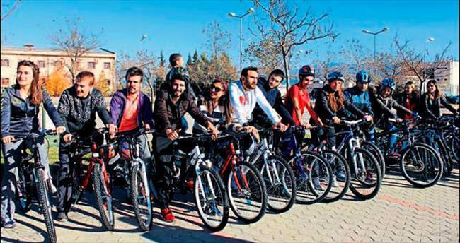 Öğrencilere 188 bisiklet