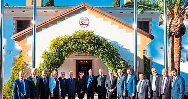 TASİAD yönetimi Kıbrıs'a çıkarma yaptı