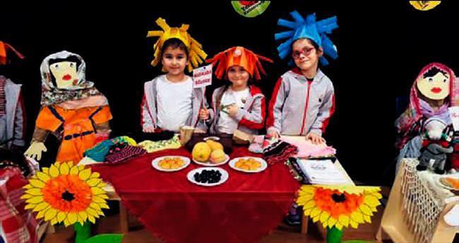 Bursa Çocuk Üniversitesi Yerli Malı Haftası'nı kutladı