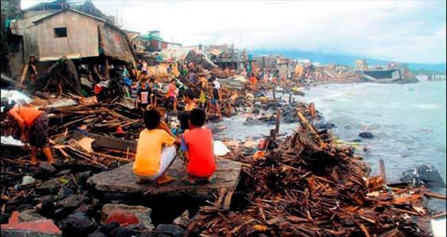 Filipinler'de ulusal felaket ilan edildi