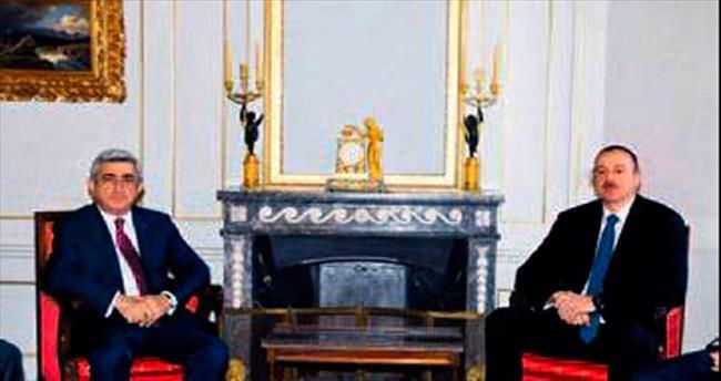 Aliyev ve Sarkisyan İsviçre'de görüştü