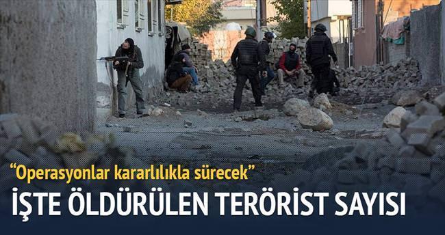 102 terörist öldürüldü