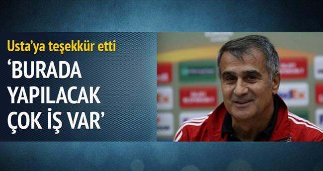 Beşiktaş'ta yapılacak çok iş kazanılacak çok kupa var