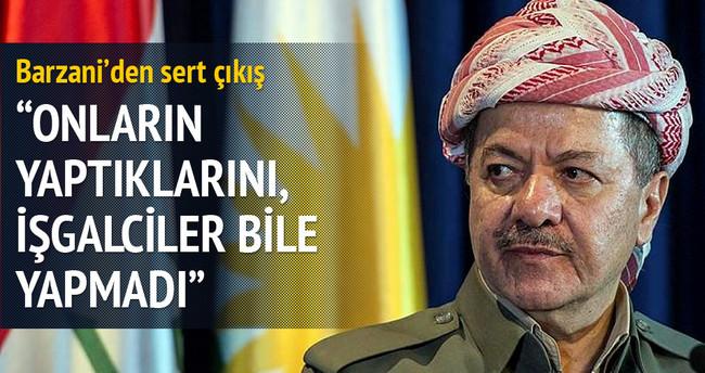 Barzani'den PYD'ye sert çıkış