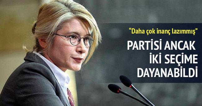 Partisi ancak iki seçime dayanabildi