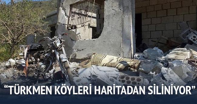 Türkmen köyleri haritadan siliniyor