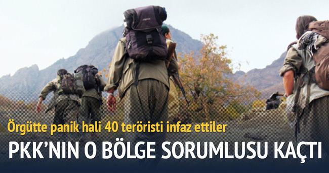 PKK 40 teröristi infaz etti