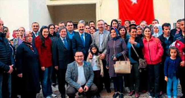 Milletvekili Özyer partililerle buluştu