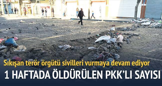 18 PKK'lı öldürüldü
