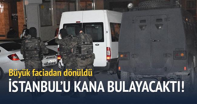 İstanbul'u kana bulayacaktı