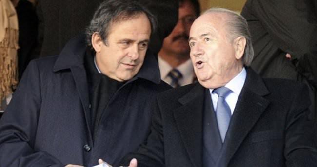 Platini ve Blatter'e büyük şok!