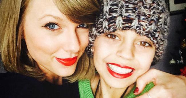 Taylor Swift'ten kanser hastası hayranına sürpriz