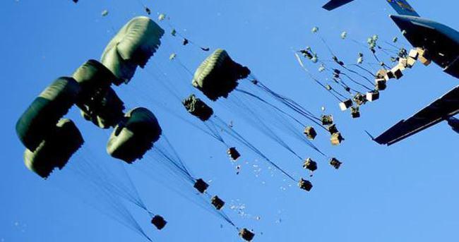 Musul'da uçaklar iki kez bildiri attı