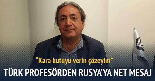 Türk profesörden Rusya'ya net mesaj