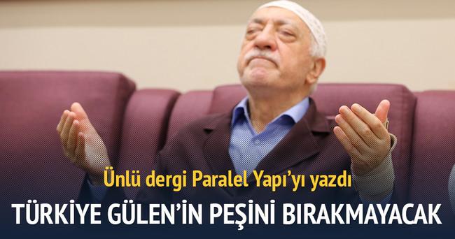 Türkiye Gülen'in peşini bırakmayacak