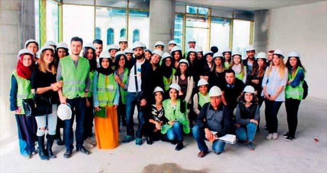 TOBB ETÜ öğrencileri Regnum Sky Tower'i gezdi