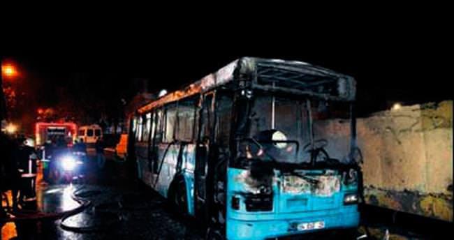 Otobüs yakan altı PKK'lı tutuklandı