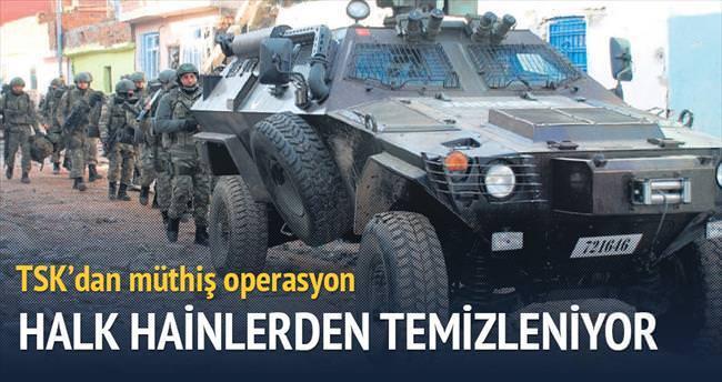 Halkı hainlerden kurtaran Sur operasyonu