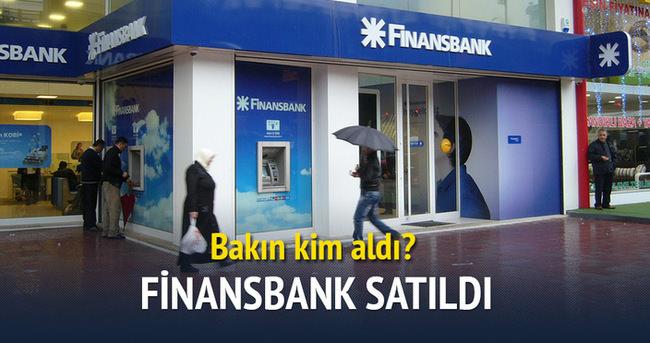 Finansbank, Katarlılar'a satıldı