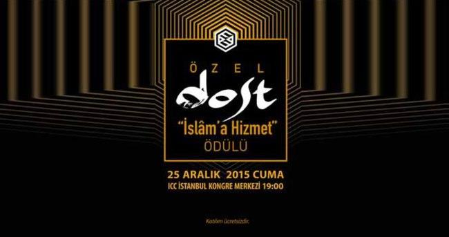 İslâm'a Hizmet Ödülleri sahiplerini buluyor