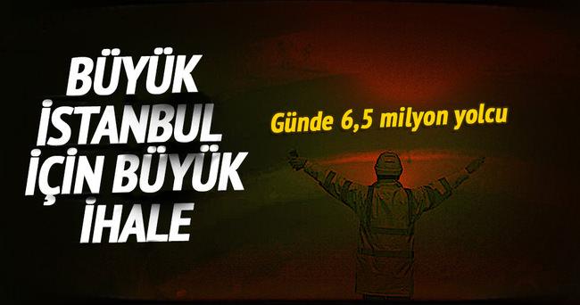 3 Katlı Büyük İstanbul Tüneli nin ihalesi yarın yapılacak