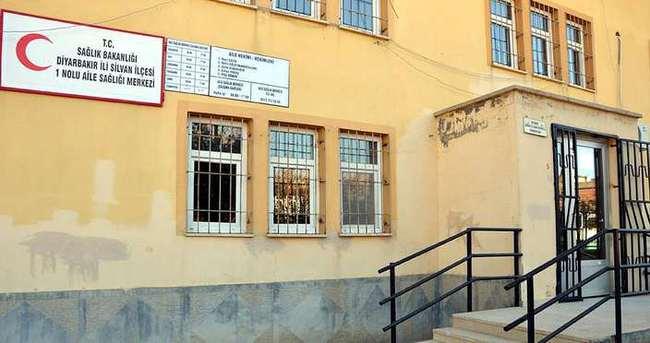 Silvan'da doktor bilgisayarları çalındı, sağlık ocağında hizmet durdu