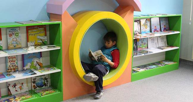 Okullarda yeni nesil kütüphane
