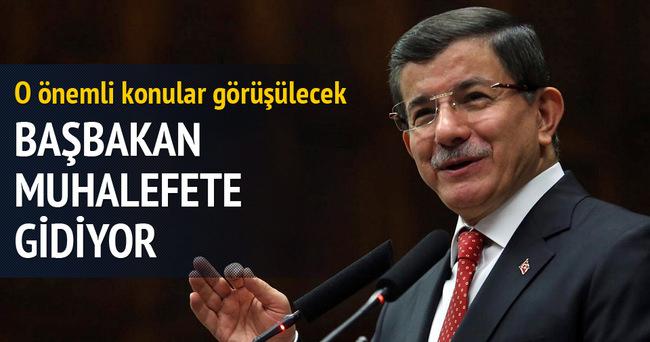Davutoğlu, CHP ve MHP liderlerinden randevu istedi