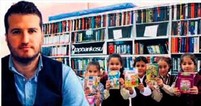Diriliş'ten Kitap Bankosu'na destek