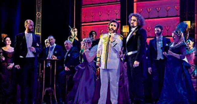 Yarasa Opereti'nin prömiyeri yapılıyor