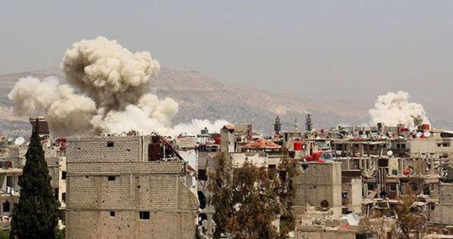 Suriye ordusundan zehirli gaz saldırısı