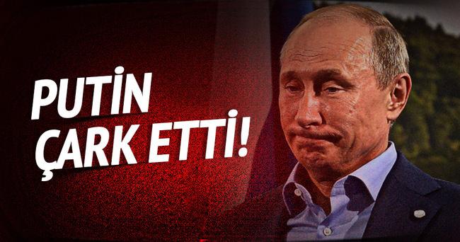 Putin çark etti