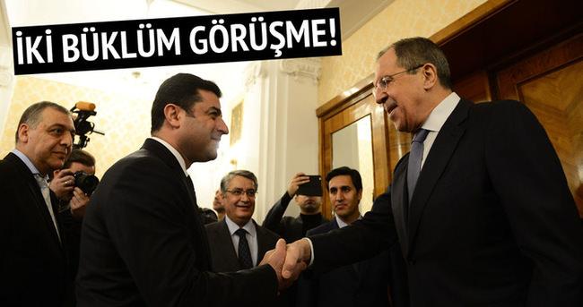 Selahattin Demirtaş Lavrov ile görüştü!