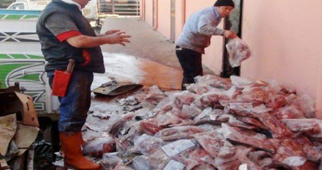Paraguay'dan 28 ton kaçak et