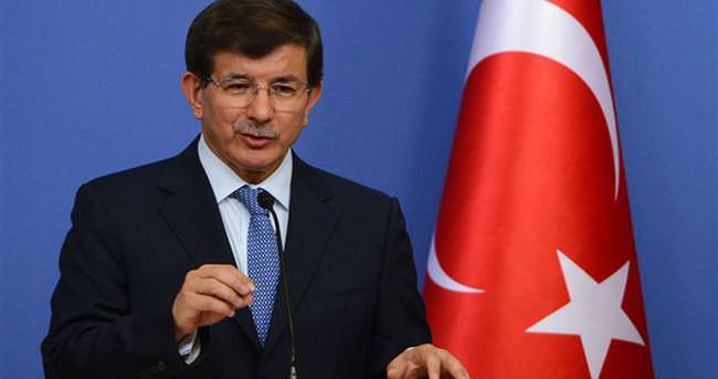 Davutoğlu Çalışma Meclisi Toplantısı'nda konuştu