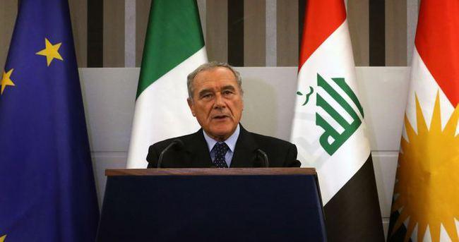 Barzani İtalya Senatosu Başkanı'nı kabul etti!