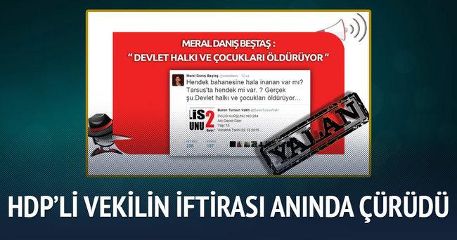 HDP'li vekili iddiasını rapor çürüttü