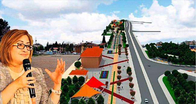 Gaziantep'e dev meydan ve park